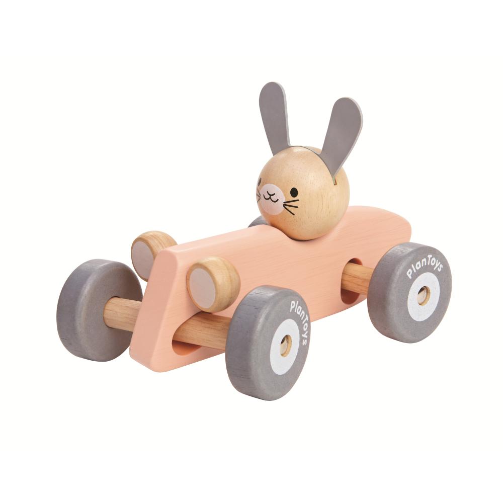 Lapin en voiture