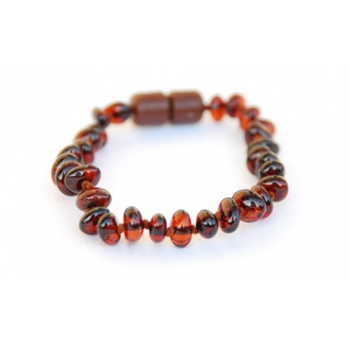 Bracelet d'ambre (divers coloris)