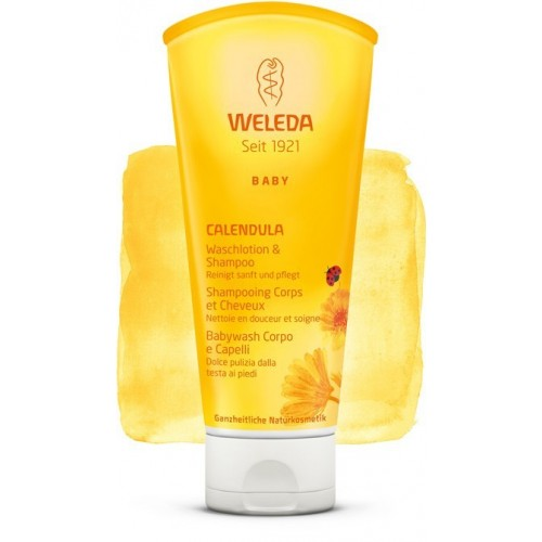 "Shampooing corps et cheveux Baby ""WELEDA"""