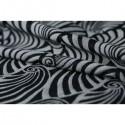 "Echarpe de portage ""Yaro Dandy Black Natural Wool"""