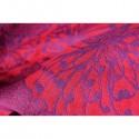 "Echarpe de portage ""Yaro Chrys Contra Purple Red Modal"""
