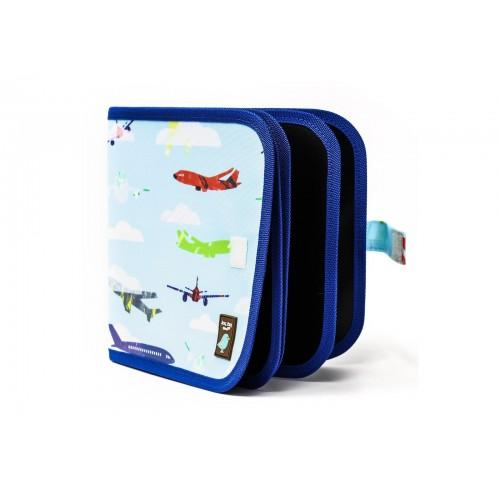 Carnet de coloriage réutilisable - avions