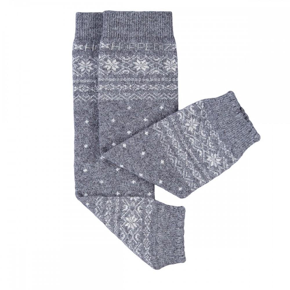 Jambière laine - mérino / cachemire gris