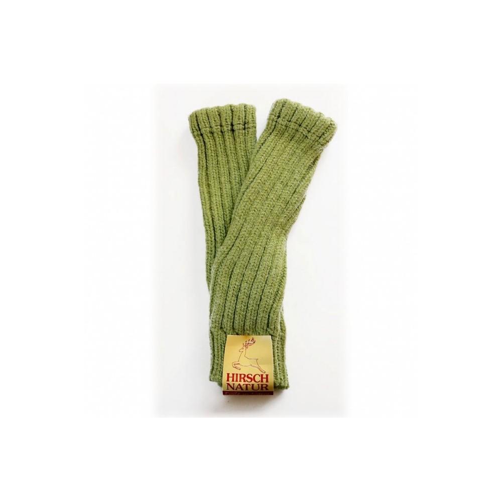Jambière en laine vert
