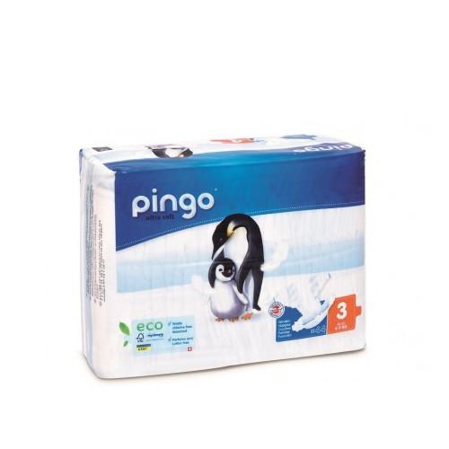 Couches écologiques Pingo taille 3 (44 pièces)