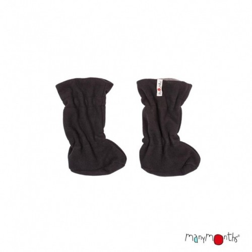 Booties ajustable noir/gris