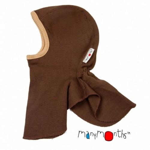 Bonnet - cagoule éléphant XS Chocolat