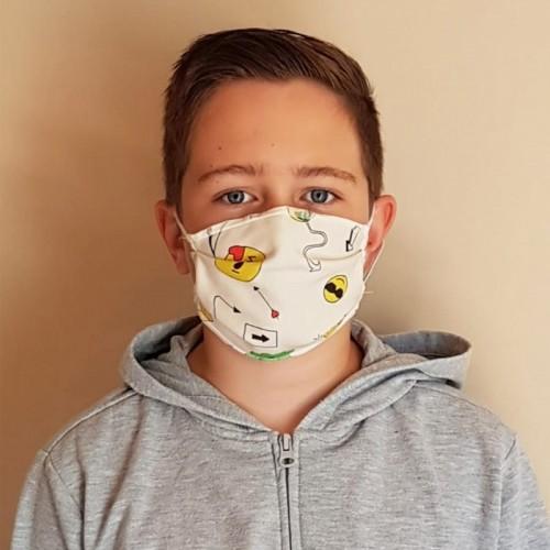 Masque lavable enfant 3 pces