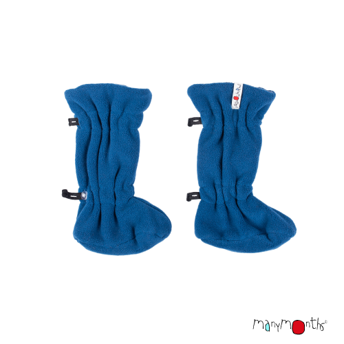 Booties ajustable bleu