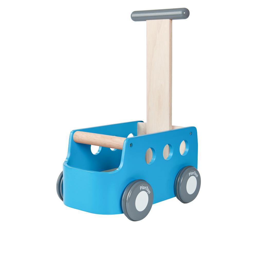 Chariot de marche van Plantoys Bleu