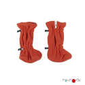 Booties ajustable orange