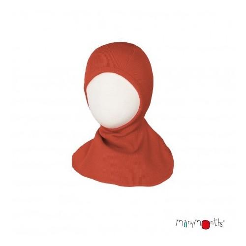 Bonnet - cagoule éléphant Rooibos Red