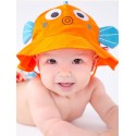 Maillot de bain + chapeau assorti poisson