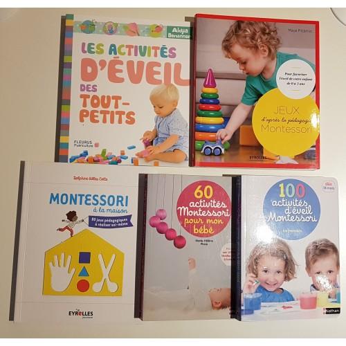 Livres Montessori et activités